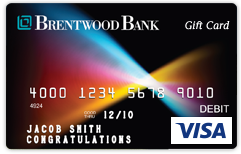 Brentwood Bank Card