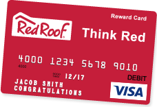 Red Roof Card